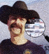 Trucker photograph made of trucks images